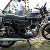 Triumph Bonneville Special with cast mag wheels