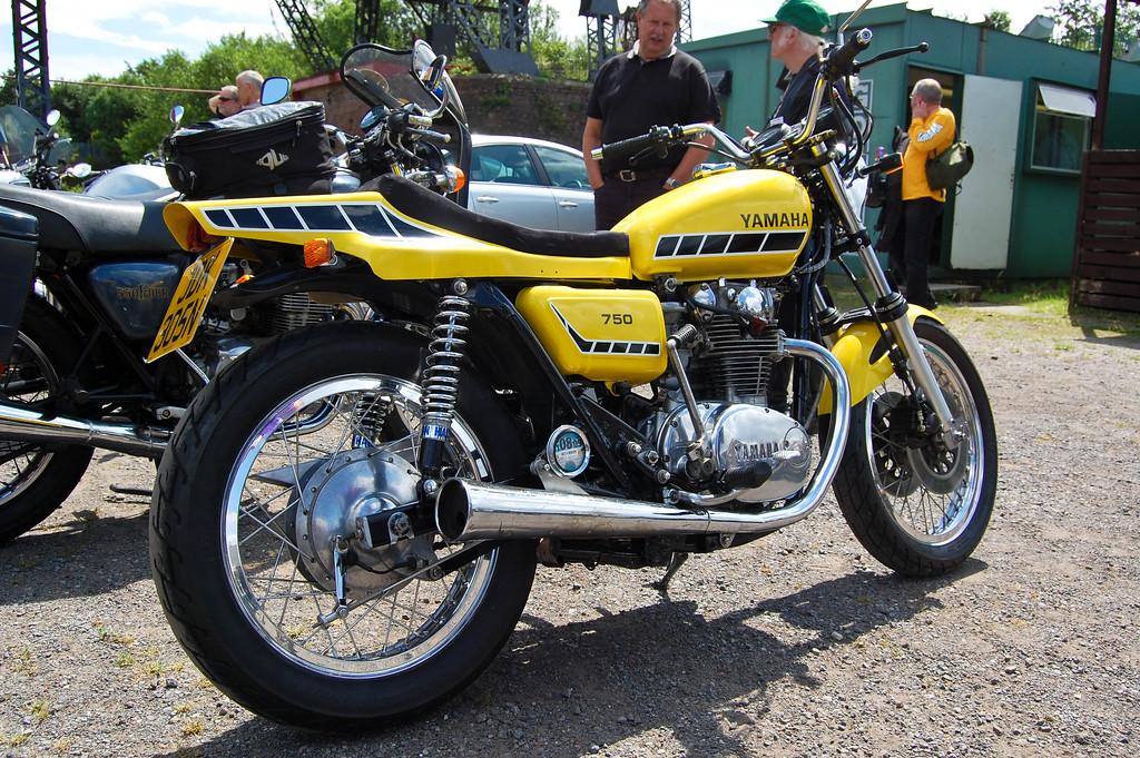 Yamaha XS 750 Kenny Roberts