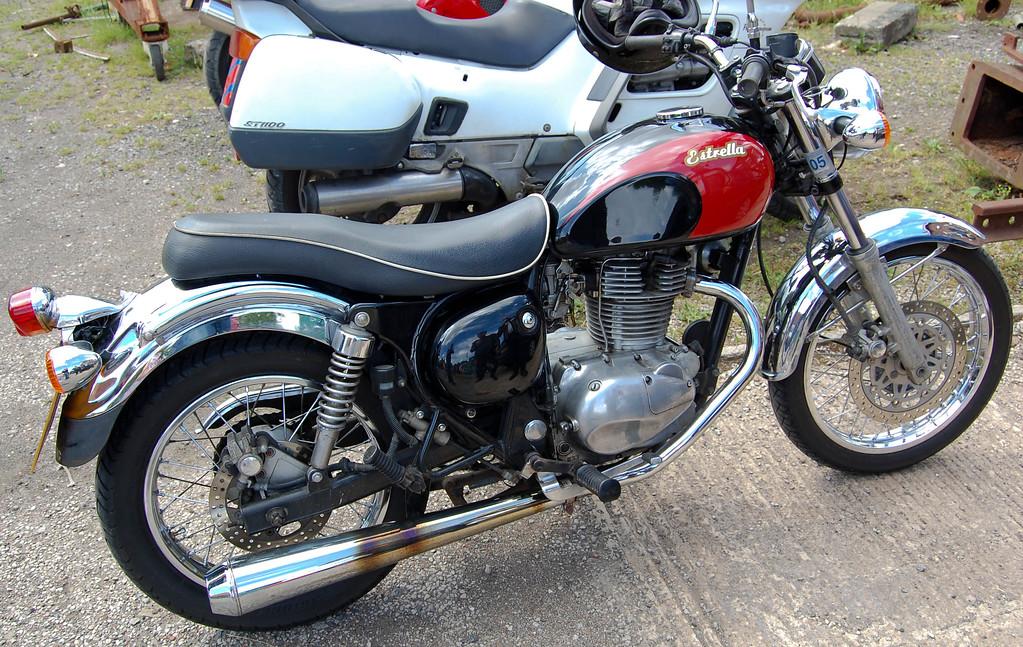 Kawasaki 250cc Estrella import 1996