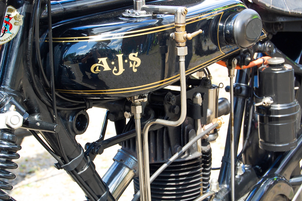 Vintage AJS Engine detail