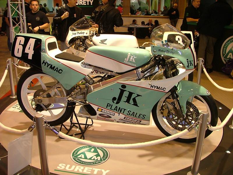 #64 Robert Dunlop Honda RS125