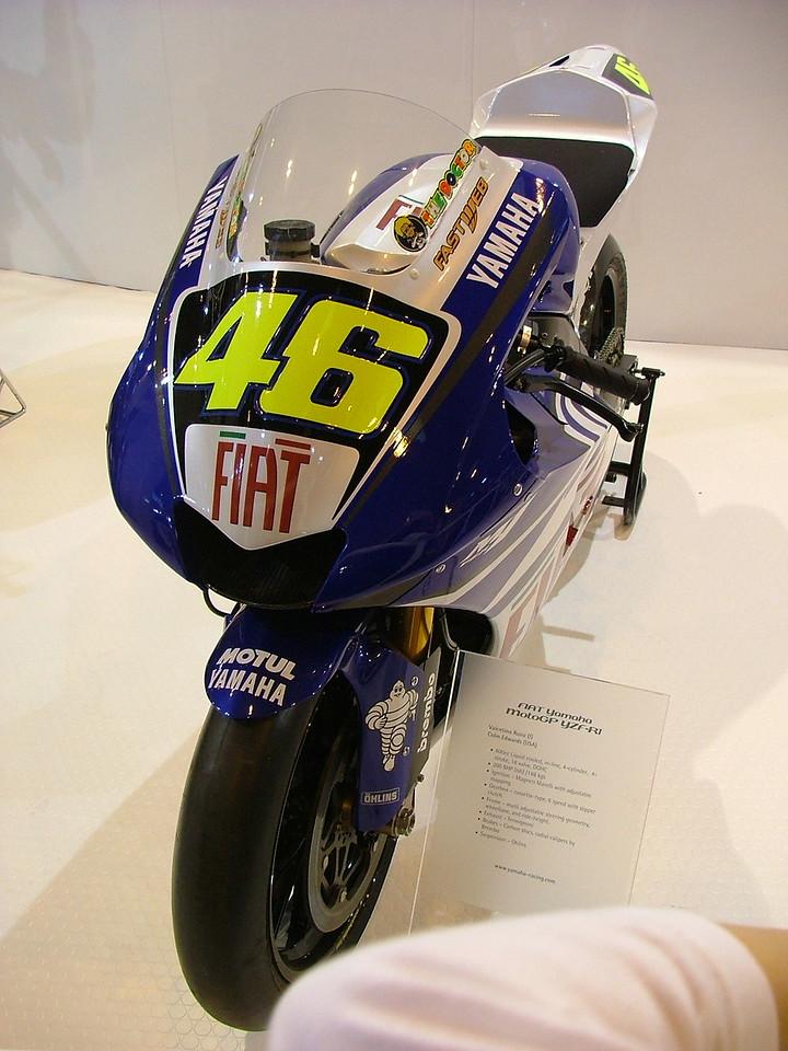 Valentino Rossi #46 Yamaha M1 2007