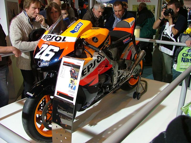 Danny Pedrosa 2007 Bike