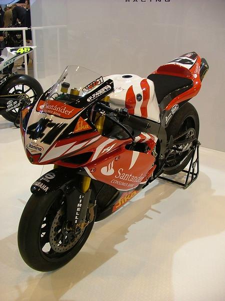Nitro Nori Haga #41 Yamaha Santander R1 World Superbike 2007