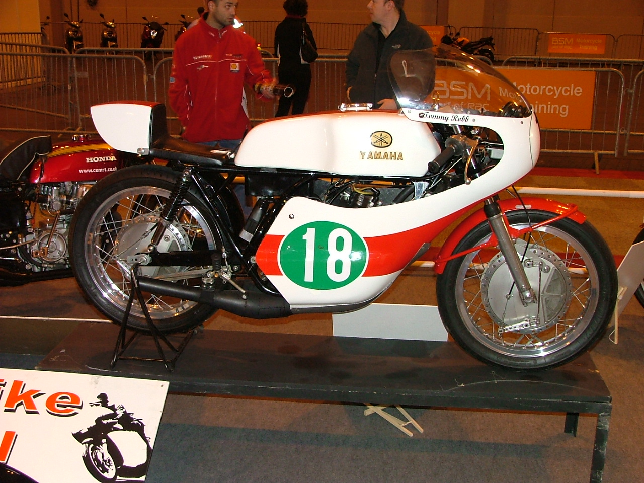 Tommy Robb Yamaha Racer