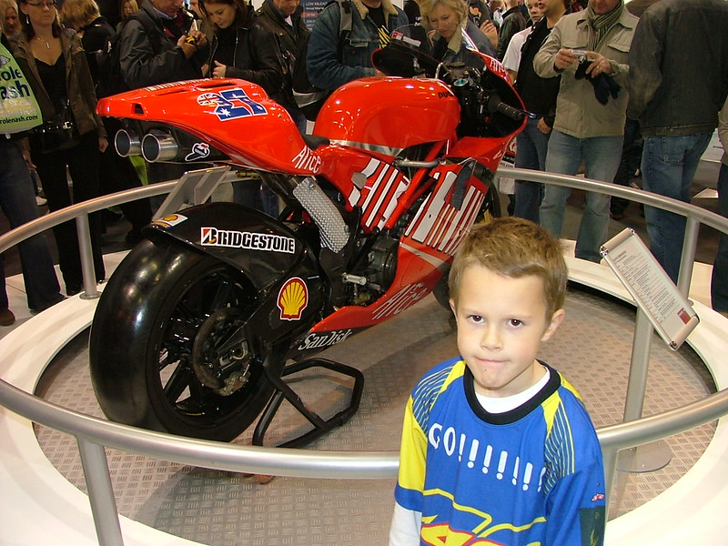 Motogp Casey Stoner's Bike from 2007