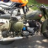 BSA Military motorcycle