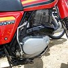 Honda XL500s Engine detail