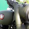 BSA Military Headlight detail
