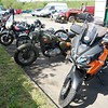Ellenroad Mill Motorcycle car park