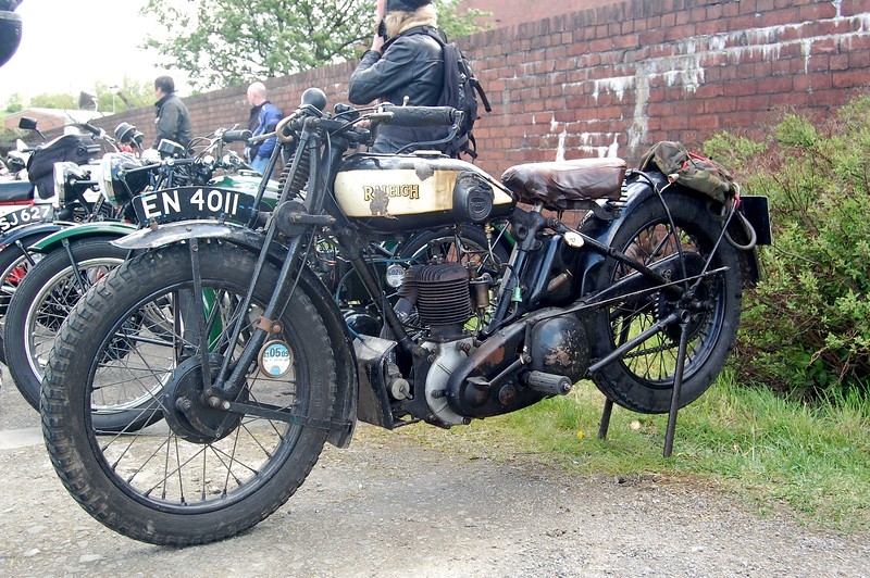 Raleigh Motorcycle