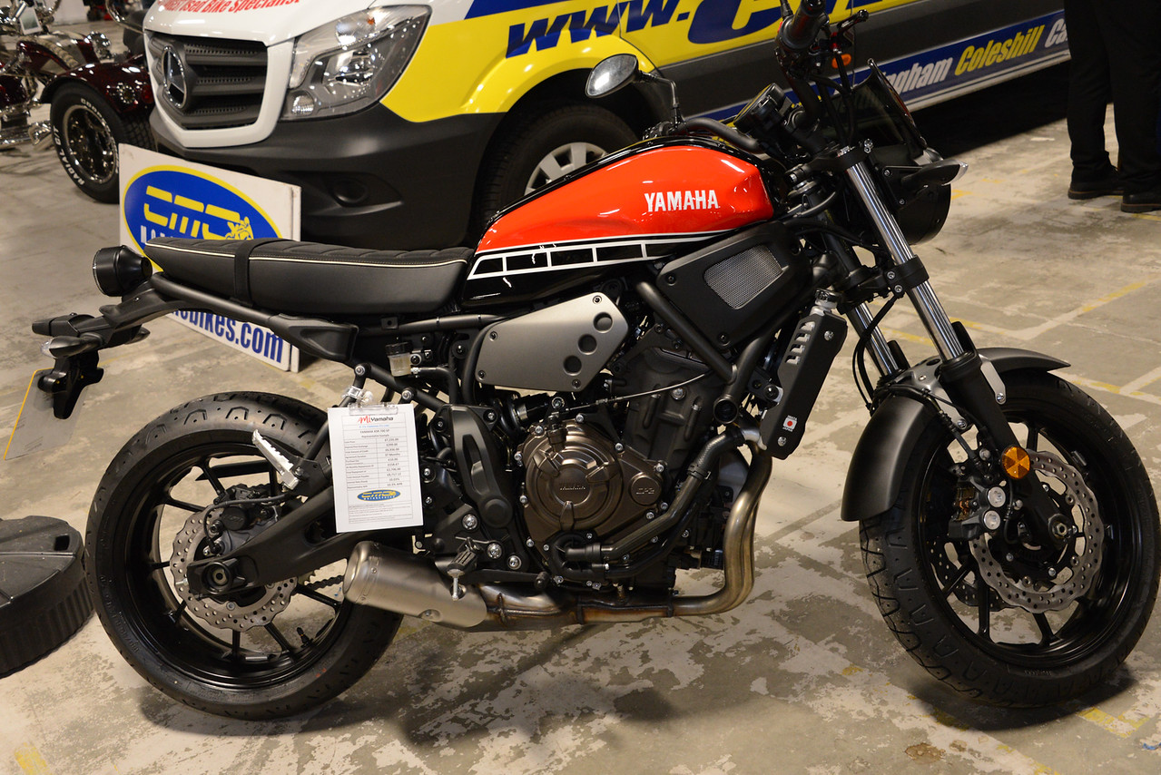 Yamaha XSR 700 SP