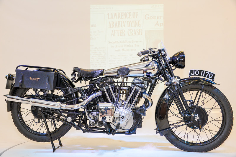 T.E Lawrence Brough Superior SS100