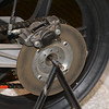 Rear Brake disk on John Player Norton