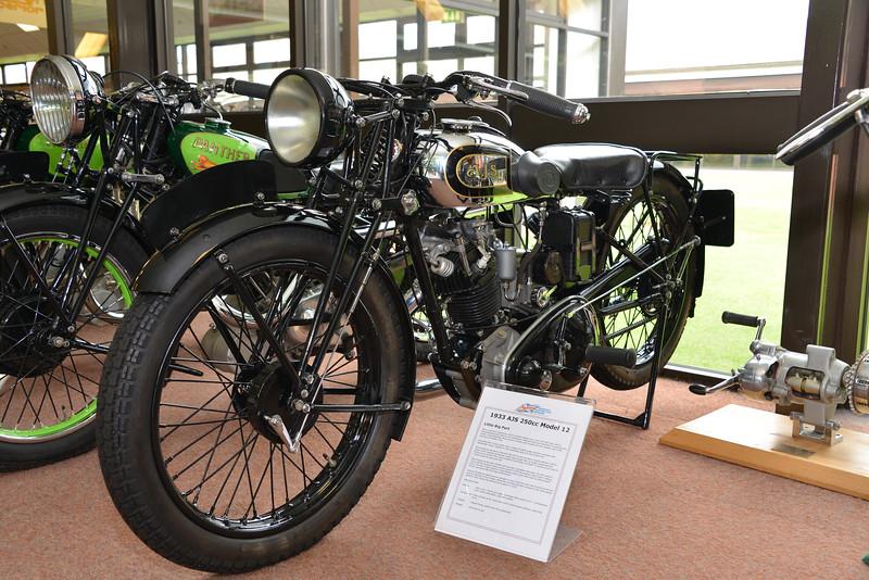 1933 AJS 250cc Model 12