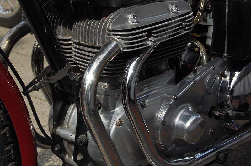 Square four Engine detail