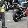 James Toseland Blown rear tyre