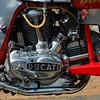 Ducati 750cc Engine detail