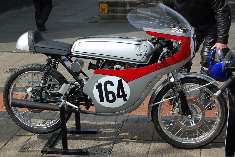Honda 50cc Race Bike