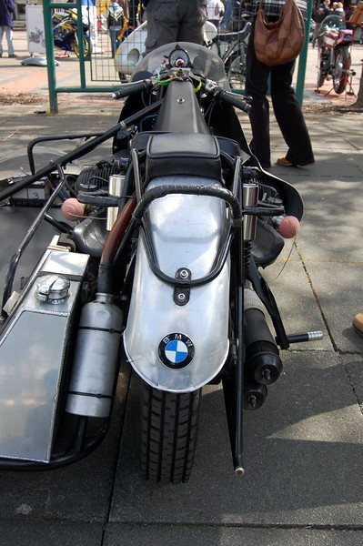 BMW Sidecar racer