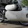 CZ Walter model 851 with Dustbin Fairing 1956 350cc
