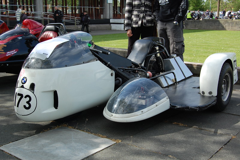BMW Sidecar race outfit