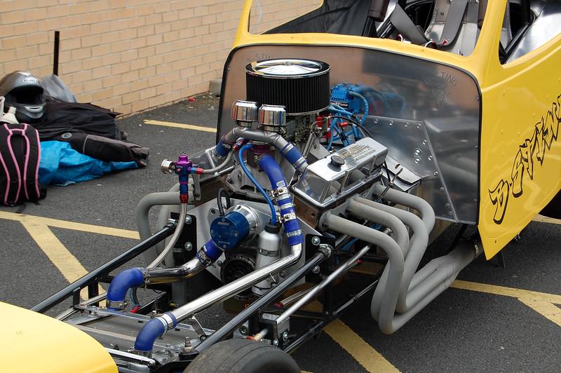 Drag car Engine