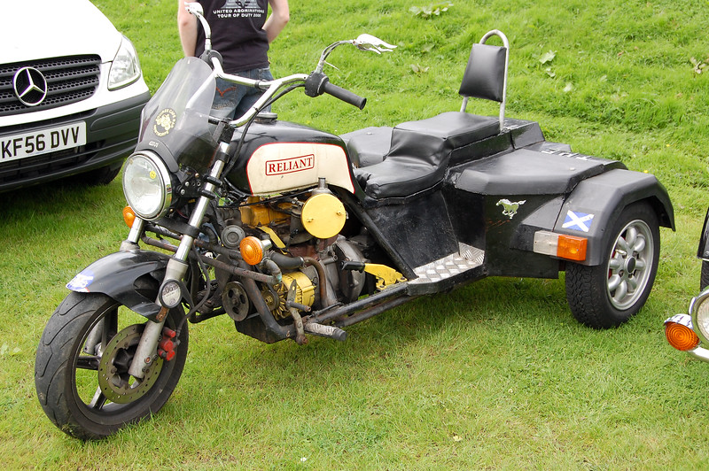 reliant engined trike