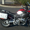 This 2005 R1200GS had been lowered with works shocks