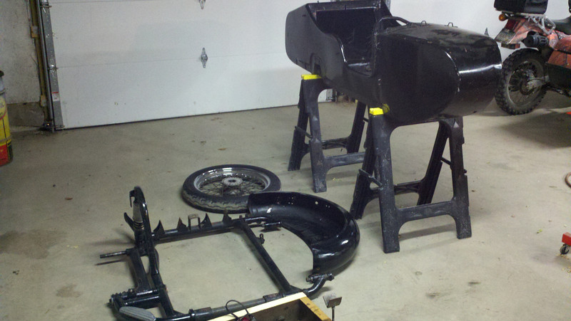 sidecar dismantled