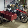 Fitting the Ural cargo box onto a Dnepr frame is going to take some modifications