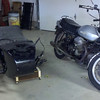Bike and sidecar are parting ways