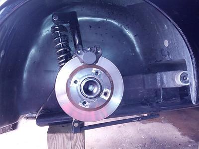 Improvised repair in farmer Nelson Green's barn