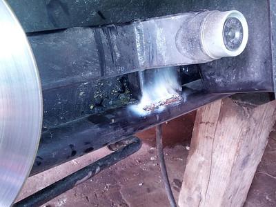 stick weld field repair
