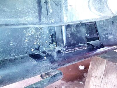 C14 Sidecar Swingarm Failure