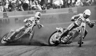 Speedway on dirt