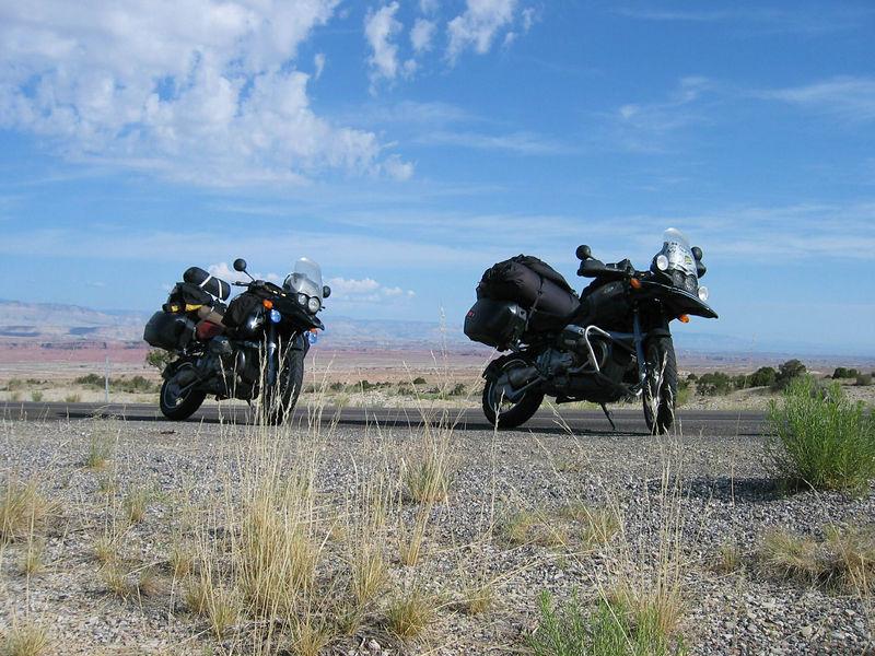 Nachtflug and I on the road home, I think in Utah.