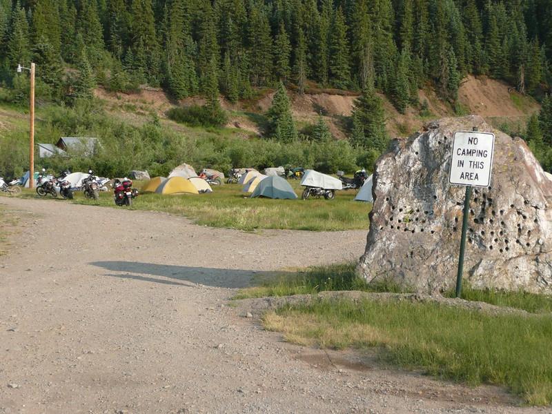 Horizons Unlimited Travelers Meeting, Silverton, Colorado, August 2008