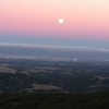 Silicon Valley from Skyline Bvld.    Its a crappy cell-phone picture of the moon rising.