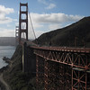 Next day I was on the road early and across the Golden Gate Bridge.   The ride up Cal1 through Marin county and up to Stinson Beach was the best riding of the weekend!