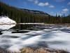 Winters tenacious grip-Spring 2009--Mud Lake