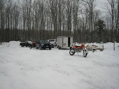 Moto-Skinner's Winter Ride - 2007