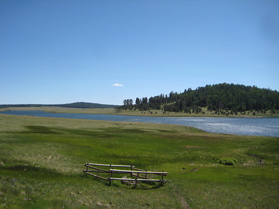 Big Lake on the Apache Indian Reservation.