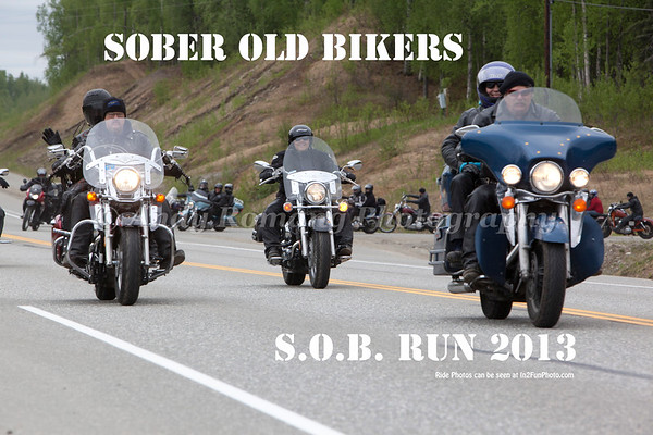 Sober Old Bikers 2013