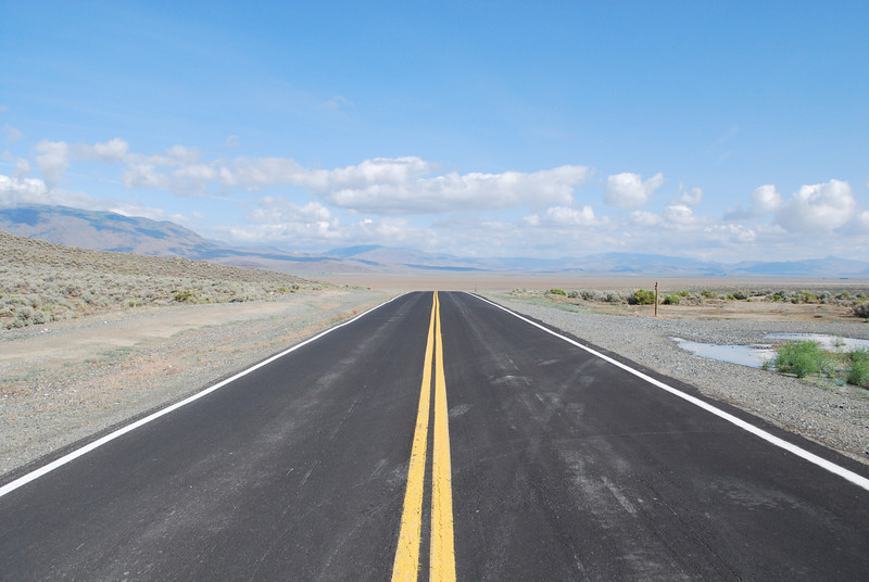 """ on a dark desert highway, cool wind in my hair....."""