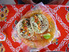 A great lunch at a taco stand, que rico!