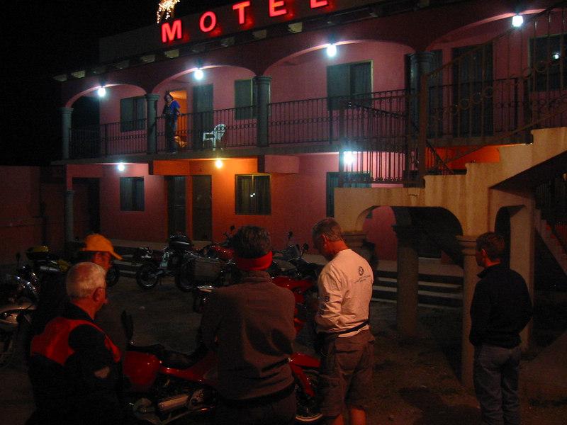 Nightlife in Yecora.