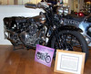 Brough Superior 100SS.  Just like T. E. Lawrence