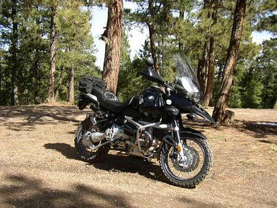 2003 GS Adventure on Rampart Range