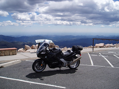 KRS at the top of Mount Evans